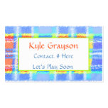Childrens Colorful Calling Card Double-Sided Standard Business Cards (Pack Of 100)