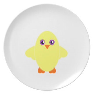 Children's Cute Baby Chick Gifts and Clothing Dinner Plate