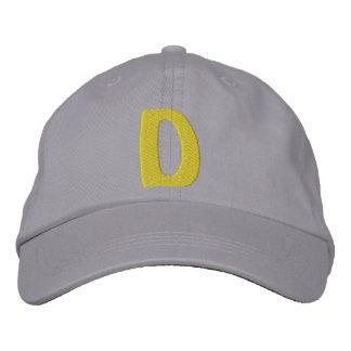 Childrens D Baseball Cap