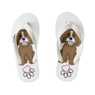 I Love My Shih Tzu Kids Shoes Sandals Zazzle