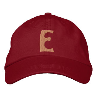 Childrens E Embroidered Hat