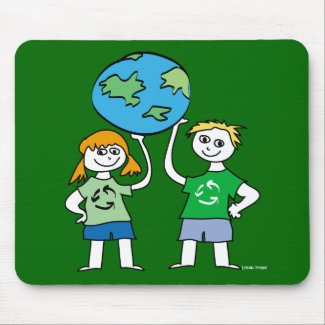Children's Earth Day Mousepad