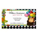 Children's Entertainer Business Cards