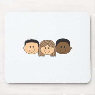 CHILDRENS FACES MOUSE PADS