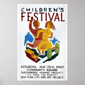 Children's Festival print