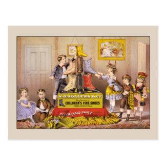 Children's Fine Shoes Postcard