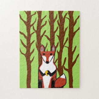 Children's Fox Puzzle