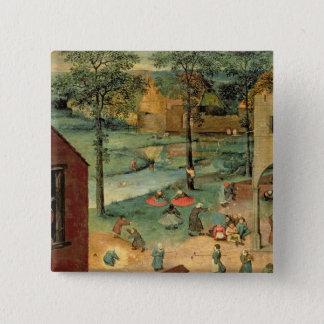 Children's Games , 1560 Button