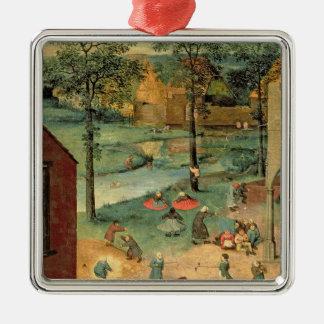 Children's Games , 1560 Metal Ornament