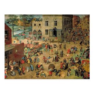 Children's Games , 1560 Post Cards