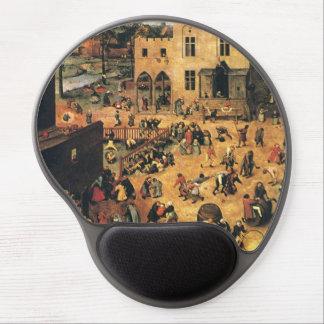 Children's Games Bruegel Medieval Gel Mouse Pad