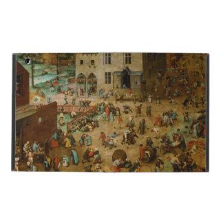 Children's Games by Pieter Bruegel the Elder iPad Folio Cases