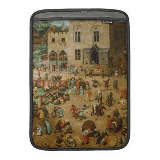 Childrens Games by Pieter Bruegel the Elder MacBook Sleeve