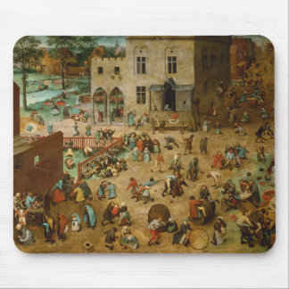Childrens Games by Pieter Bruegel the Elder Mouse Pad
