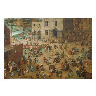 Childrens Games by Pieter Bruegel the Elder Placemat