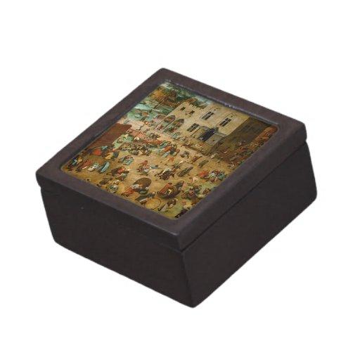 Childrens Games by Pieter Bruegel the Elder Premium Keepsake Box