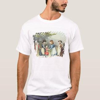 Children's Games, c.1880 (w/c on paper) T-Shirt