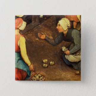 Children's Games : detail of a game throwing Button