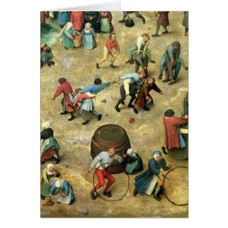 Children's Games : detail of bottom Card