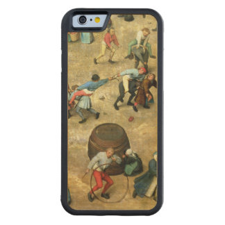 Children's Games : detail of bottom Carved Maple iPhone 6 Bumper Case