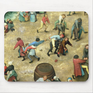 Children's Games : detail of bottom Mouse Pad