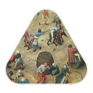 Children's Games : detail of bottom Speaker