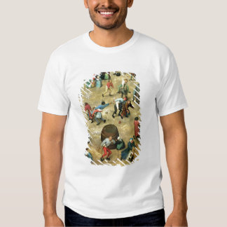 Children's Games : detail of bottom T-Shirt