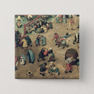 Children's Games : detail of left-hand section Button