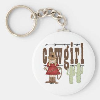 Children's Gift Basic Round Button Keychain