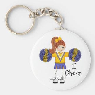 Children's Gifts Basic Round Button Keychain
