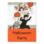 Children's Halloween Costume Party Custom Invitations