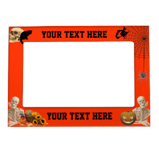 Children's Halloween Magnetic Picture Frame
