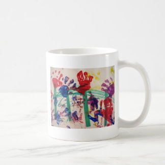 Children's handprint Garden Coffee Mug
