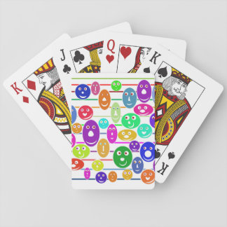 Children's Happy Face Playing Cards