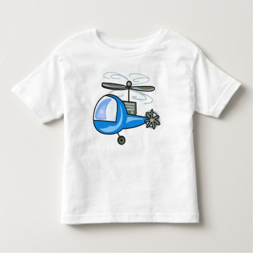 Childrens Helicopter Toddler T_shirt