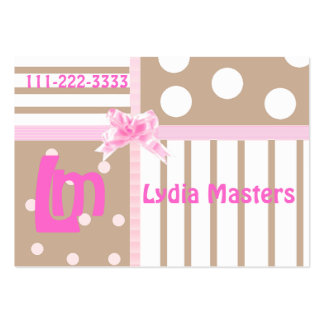Childrens High Fashion Calling Card Large Business Cards (Pack Of 100)