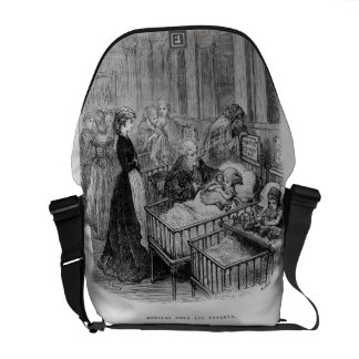 Children's Hospital, from 'London: A Pilgrimage' b Courier Bag