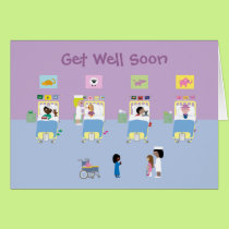 Childrens hospital get well soon card