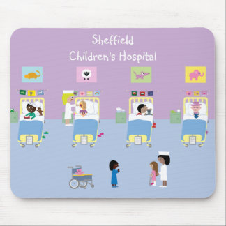 Children's Hospital Ward Customizable Mouse Pad