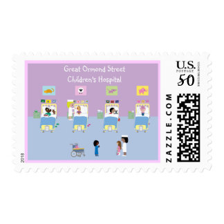 Children's Hospital Ward Customizable Postage