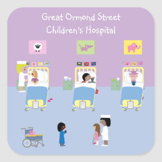 Children's Hospital Ward Customizable Stickers