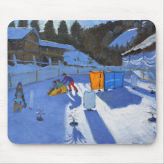 childrens ice rink Clusaz 2014 Mouse Pad