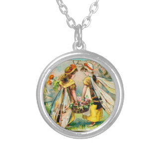 Childrens in insect costume: Wasp necklace