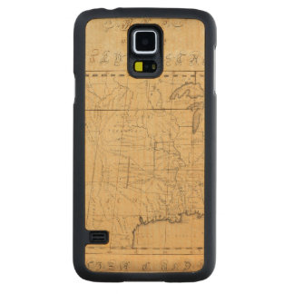 Children's Map Of The United States Carved® Maple Galaxy S5 Slim Case