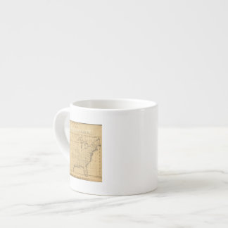 Children's Map Of The United States Espresso Cup