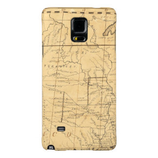 Children's Map Of The United States Galaxy Note 4 Case