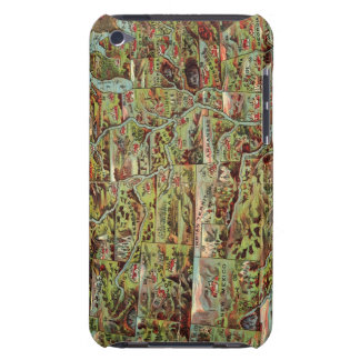 Children's Map of the United States iPod Case-Mate Case