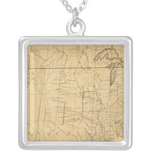 Children's Map Of The United States Jewelry