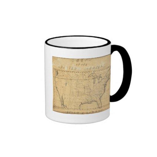 Children's Map Of The United States Mug