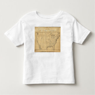 Children's Map Of The United States Shirts